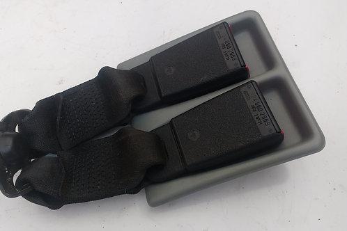 MERCEDES W124 ESTATE REAR SEATBELT BUCKLES