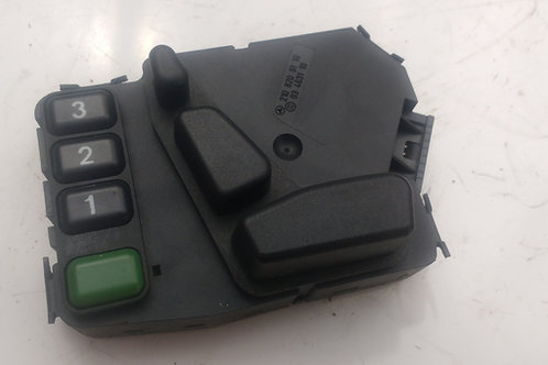 MERCEDES W210 PASSENGERS ELECTRIC SEAT SWITCH 2108209110