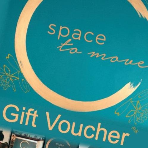 Gift Voucher - 10 studio classes