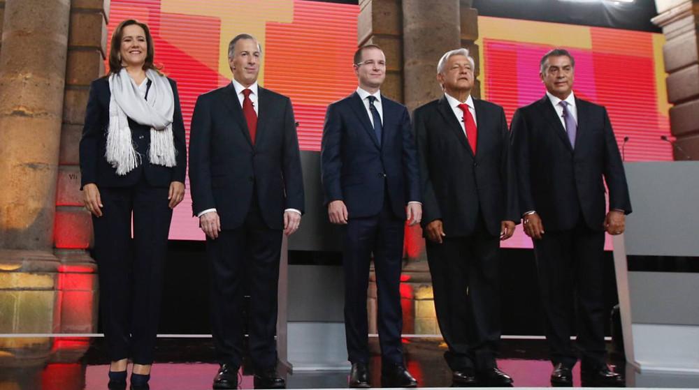 Candidatos presidenciales México 2018