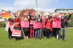 Campaigners Rally In Chalkwell Park