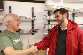Local Potter And Businessman Richard Baxter