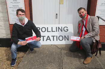 Paul Raphael Joins Aston For Polling Day GOTV