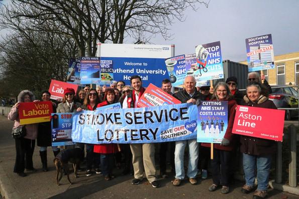 Save Southend NHS Demo