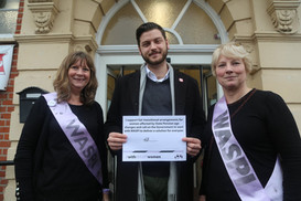 Aston Pledges To Support WASPI Women In Their Campaign