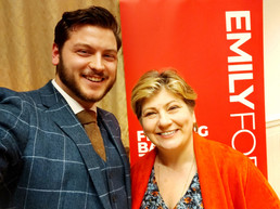 Aston Welcomes Emily Thornberry, Shadow Secretary of State for Foreign and Commonwealth Affairs, To Southend West CLP