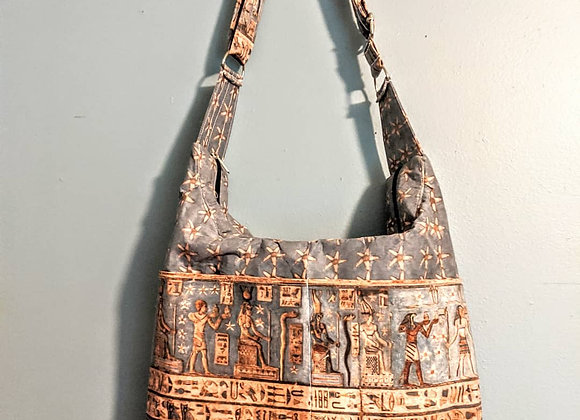 Queen Nefertari Slouch Hobo Bag
