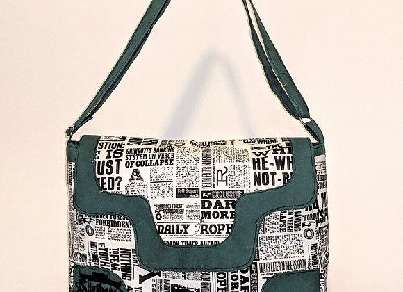 Slytherin Lilium Laptop/ Book Bag