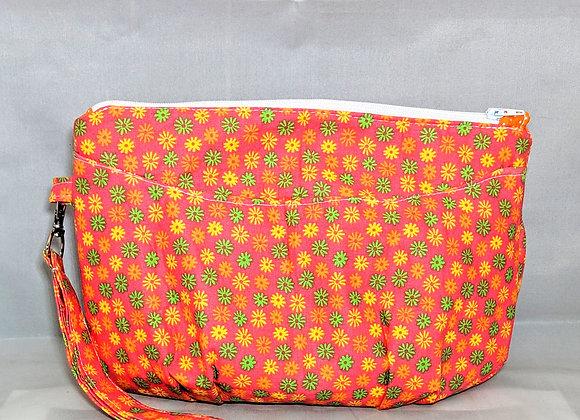 Orange Gerbera Clutch