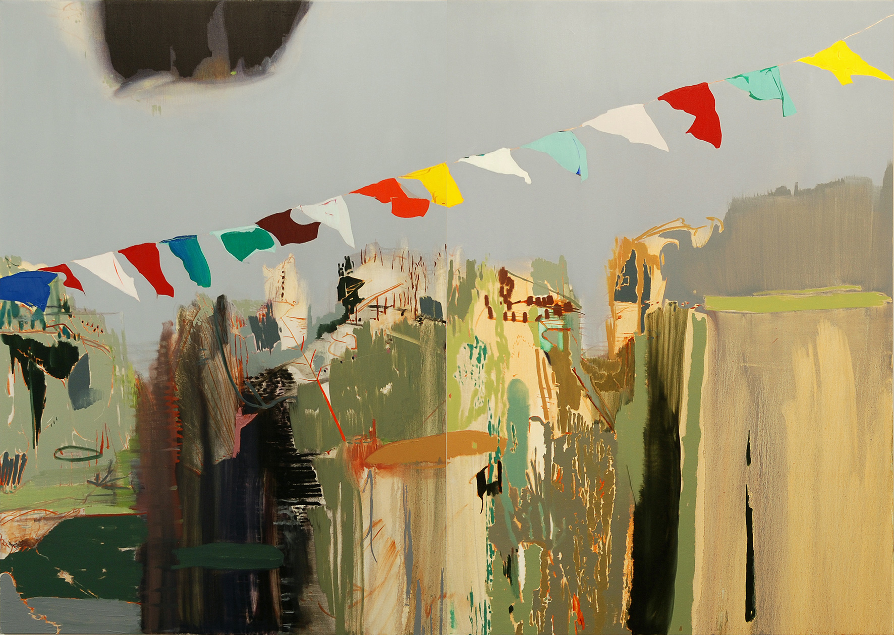 Flags (diptych) | 2011