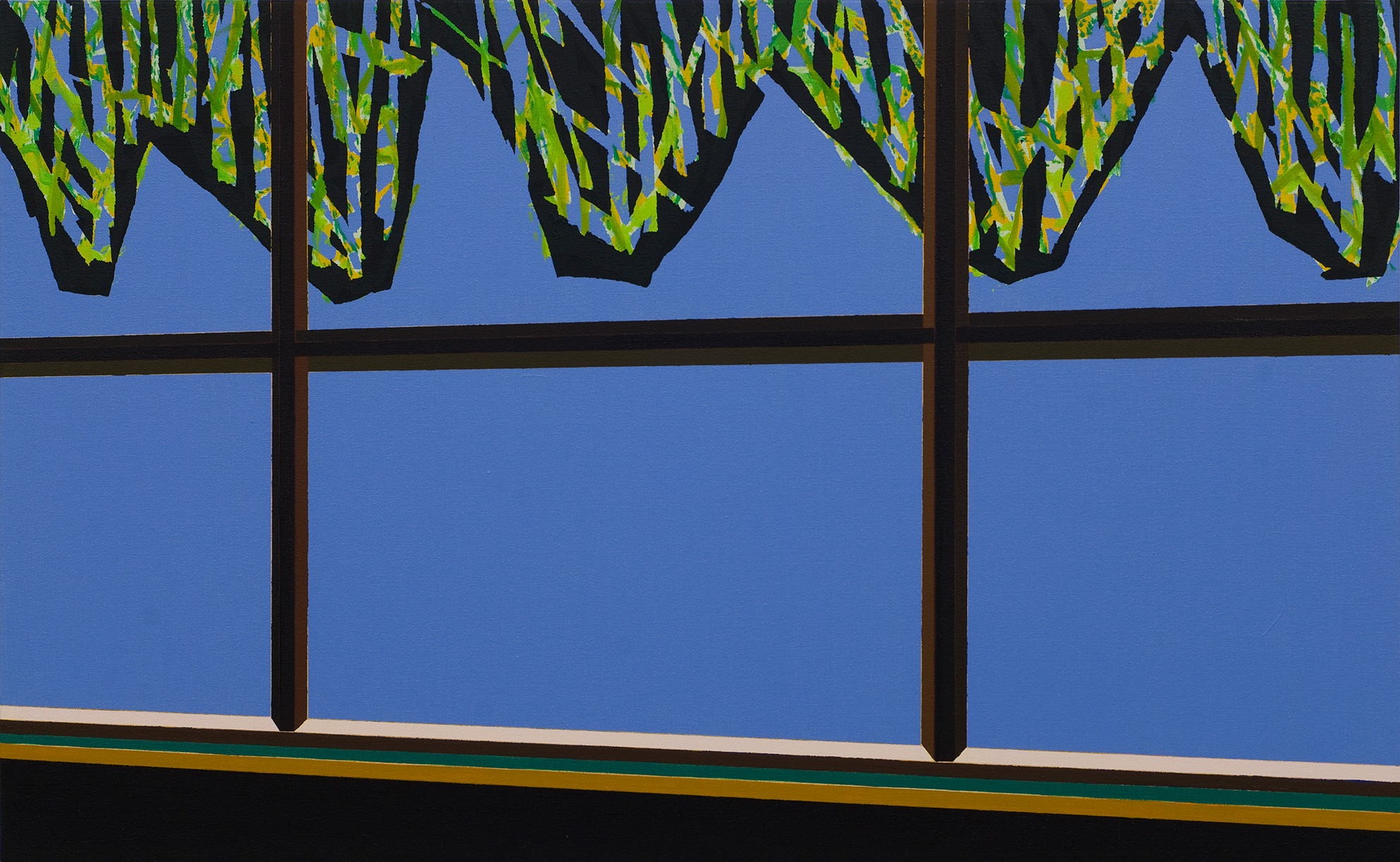 Green curtain   2012