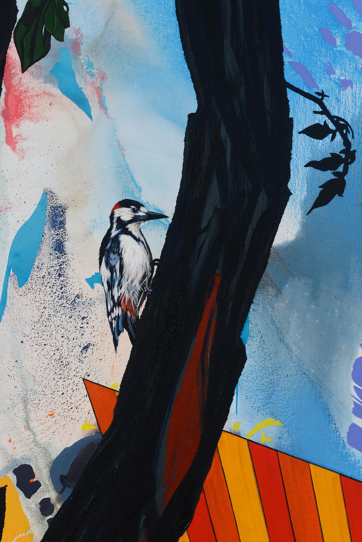 Woodpecker | (detail) | 2019
