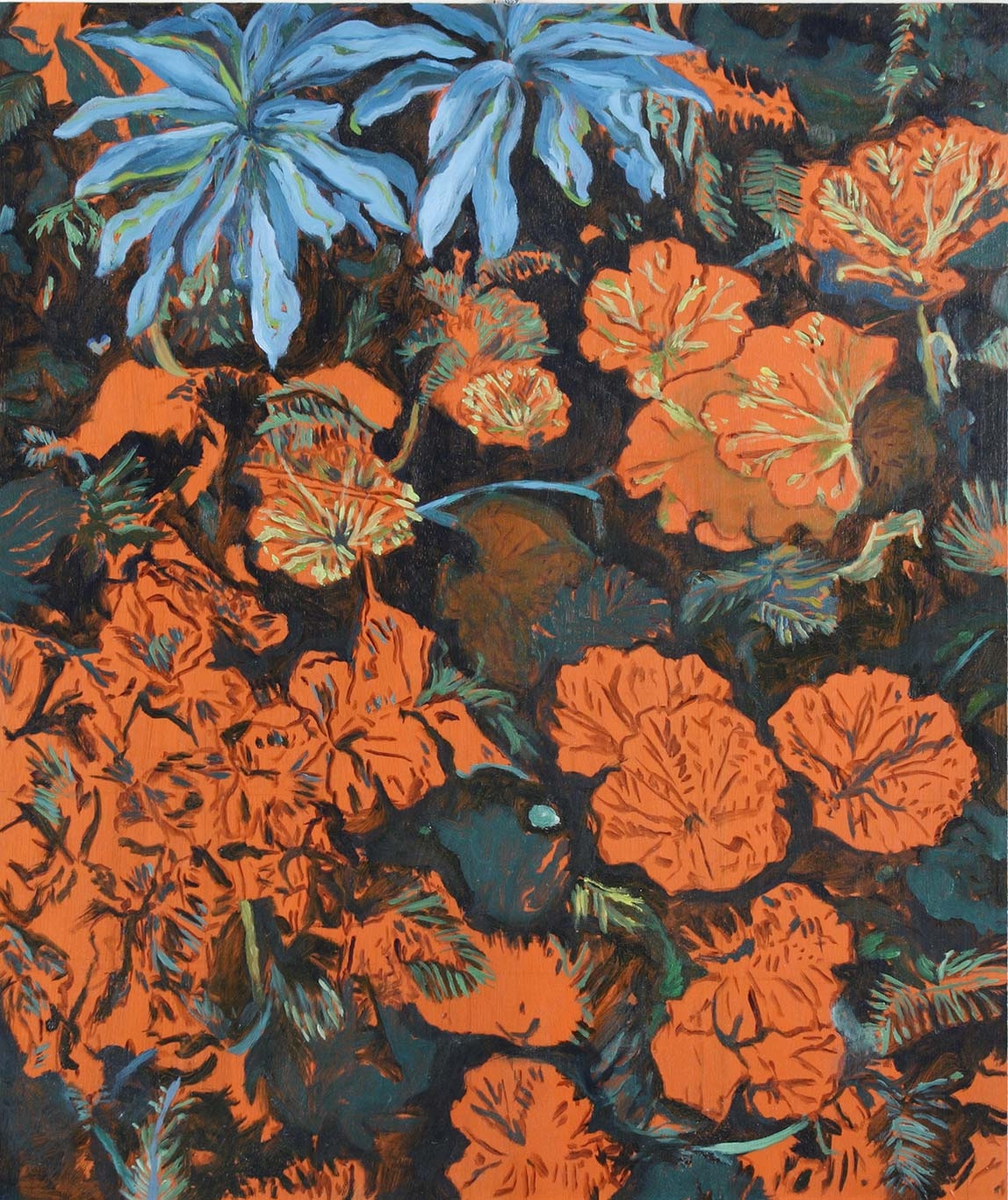 Blue Flowers | 2006