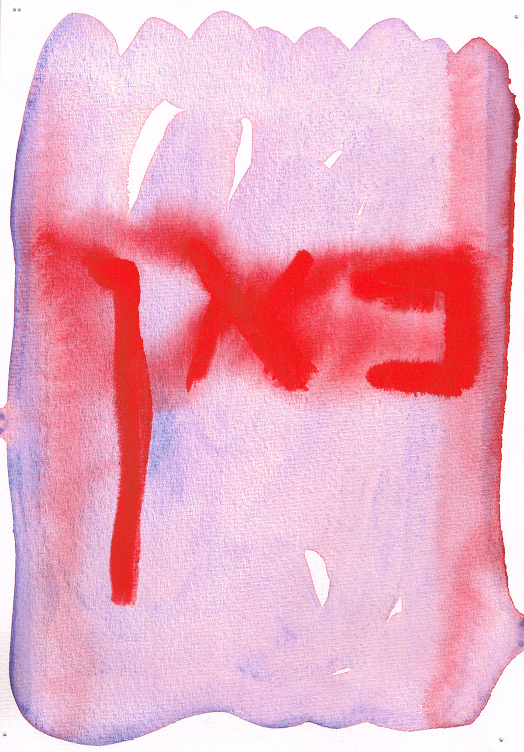 No.7 | Gouache on paper | 2019