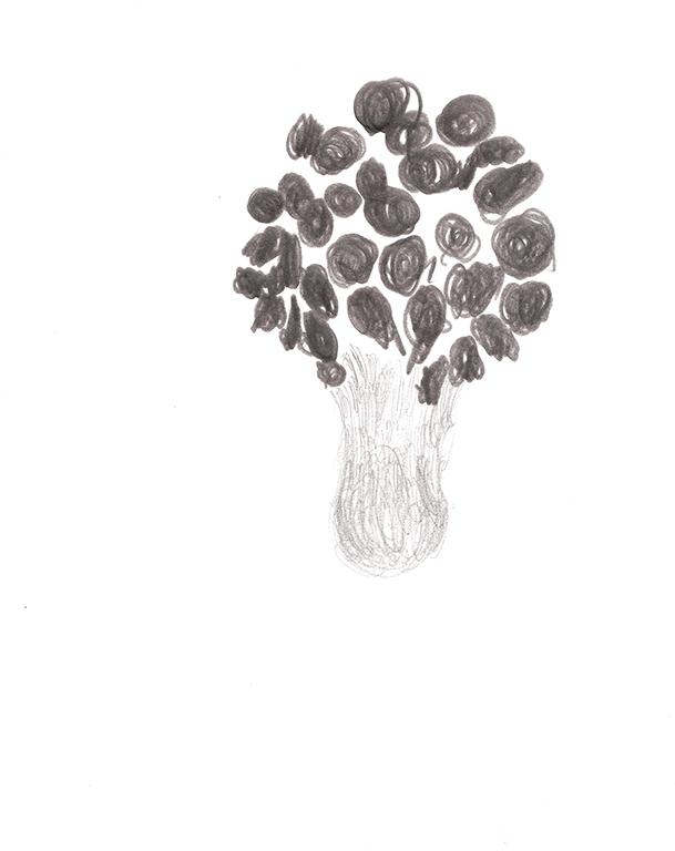Black flowers | 2006