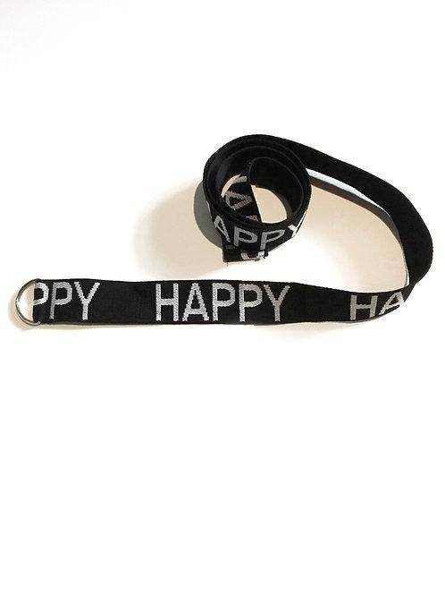 AMORPH - Gürtel HAPPY - Black
