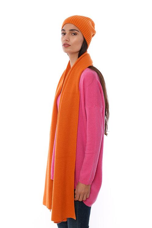 AMORPH - scarf ripp -100 % cashmere