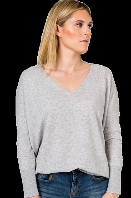 AMORPH - VOK classic V neck - 100 % cashmere