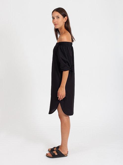 AMORPH - Carmen Dress - Black
