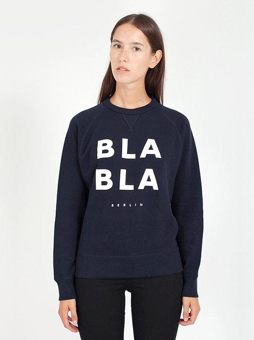 AMORPH - BLA BLA Sweater - Navy