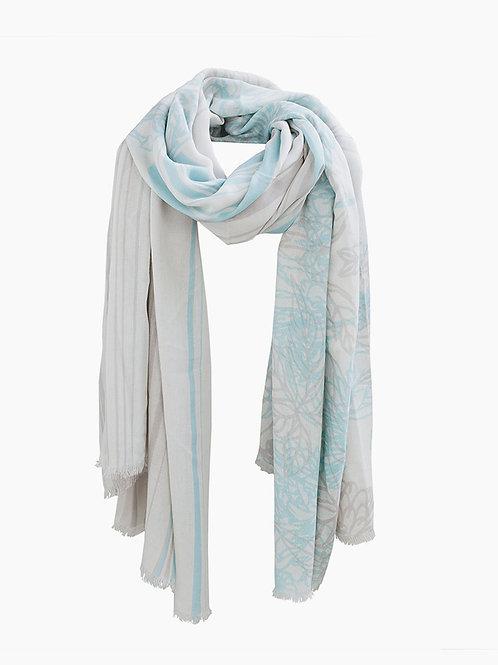 AMORPH - Tuch Bloom - Lightsilver Blue