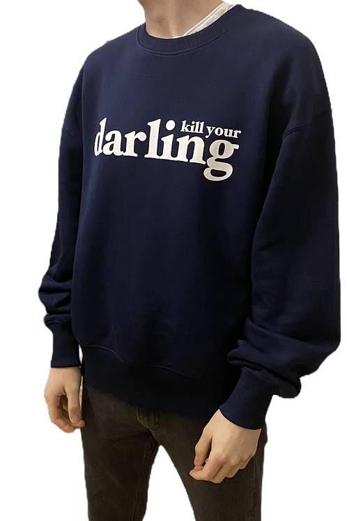 AMORPH - Sweater Kill your Darling mit Ballonarm Jersey