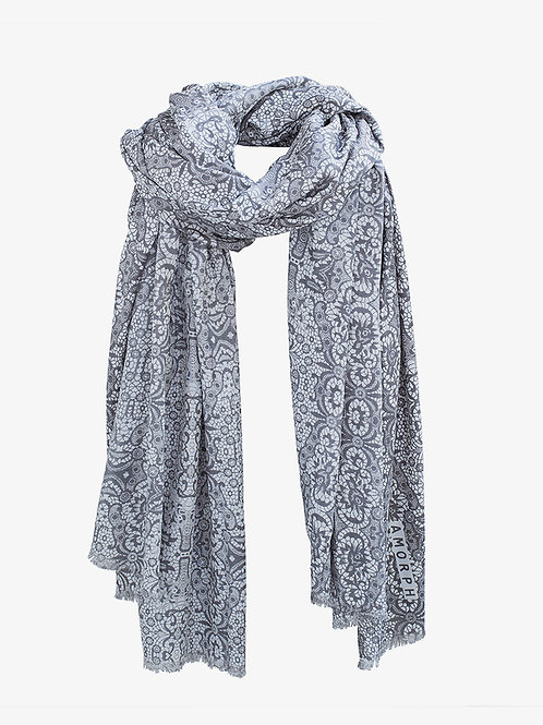 AMORPH - Tuch Lace - Dark Grey