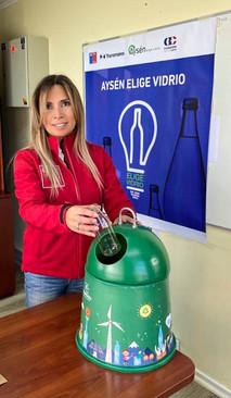 Por una Patagonia sin residuos: Inauguran campaña de reciclaje Aysén Elige Vidrio