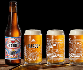 Amstel KARGO IPA Beer (Grecia)