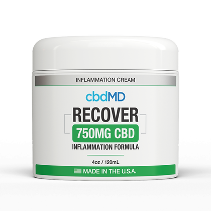 cbdMD CBD RECOVER Inflammation Formula Topical
