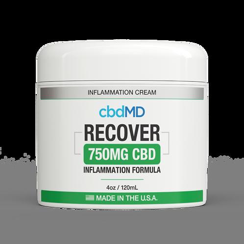cbdMD CBD RECOVER Inflammation Formula Topical