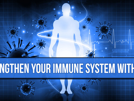 STRENGTHEN YOUR IMMUNE SYSTEM WITH CBD!
