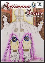 manifesto vincitore 3 conocorso artistico culturale settimana santa talsano taranto 2016