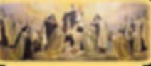 santi carmelitani,storia e vita