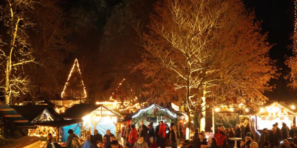 Weihnachtsmarkt im Kurpark Bad Münster am Stein