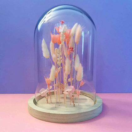 Composition aérienne fleurie