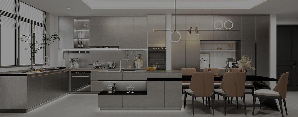 EKOSTEEL Stainless Steel Kitchen Cabinet