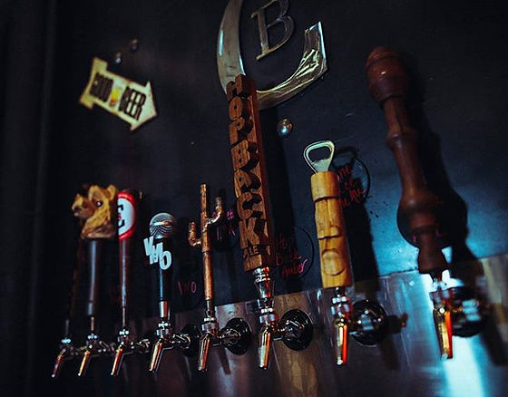 Come try one of our 8 Beers on tap! we a