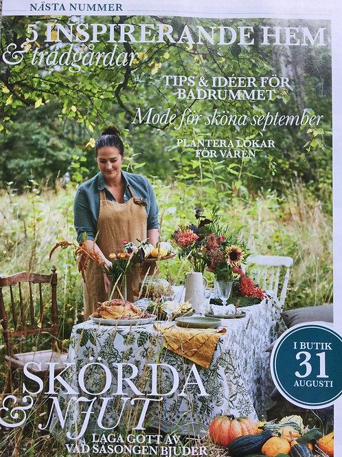 LANTLIV - SEPTEMBER 21 - schwedisches Landleben/Wohnen Magazin