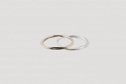 ring silber matt glänzend nachhaltig bewusst ethisch fair julia otilia your green boutique