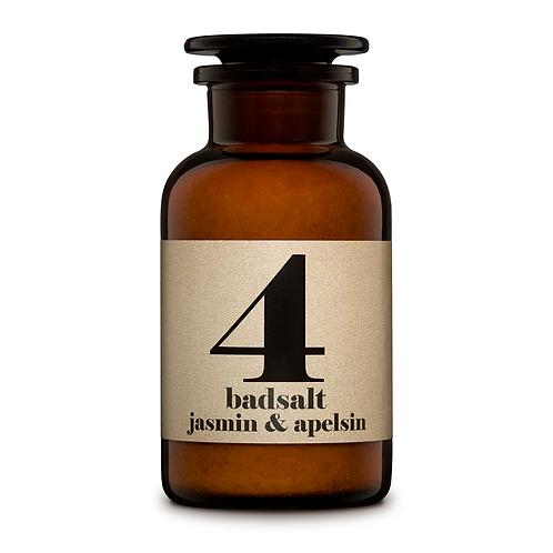 Jasmin & Orange - Badesalz Nr. 4