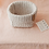 Thumbnail: Crochet Körbchen cream - Medium