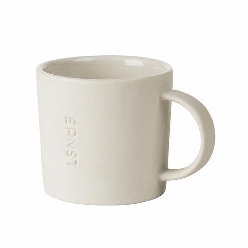 Espressotasse weiss Steingut Keramik Ernst Schweden