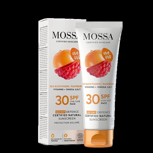 Mossa Certified Cosmetics Natural Sunscreen, natürlicher Sonnenschutz fürs Gesicht, ethisch, nachhaltig