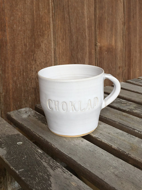 Västergården Tasse für heisse Schokolade Frukost, Keramik handgemacht in Schweden