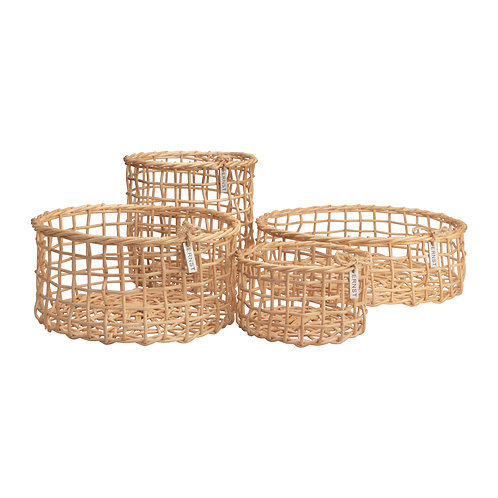 Ernst Korbset Körbchen Set natur Bambus