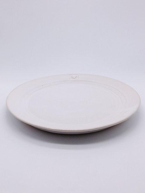 Västergården Teller Bultande Hjärta, Keramik handgemacht in Schweden