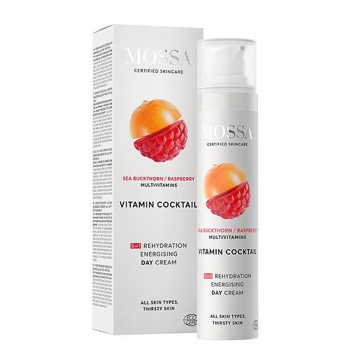 Mossa Certified Cosmetics Vitamin Cocktail Intense Rehydration Energizing Day Cream, natürliche Tagescreme ethisch nachhaltig