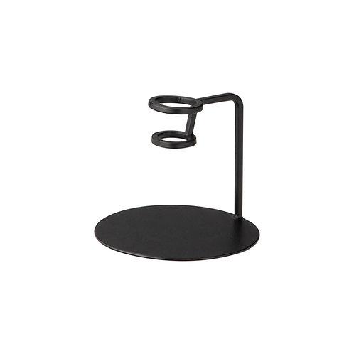 Ernst Kerzenhalter Metall schwarz