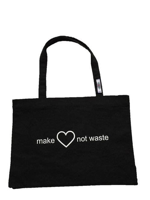 mum&me Recycled Shopping Bag - Black